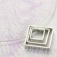 Necklace + Stainless Steel Pendant, NL478