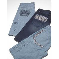 Men's embroideried jean