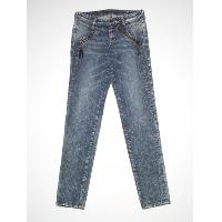 Ladies' zipped jean
