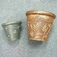 Pu Flower Pot - Hard