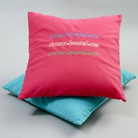 Square Cushion (Embroidery)
