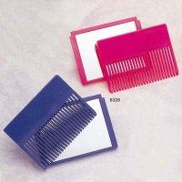 Plastic Comb Mirror in  inchesCassetty inches