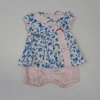 Flower Print Woven All-In-One Baby Suits