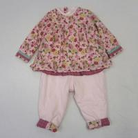 Flower Pirnt Jersey Baby Tops & Pants, BY2018006