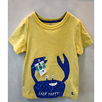 Boy 3D Applique Tee, GAM20181231