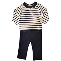 Babie's Girl Knit Top & Trouser Set, BY2020001