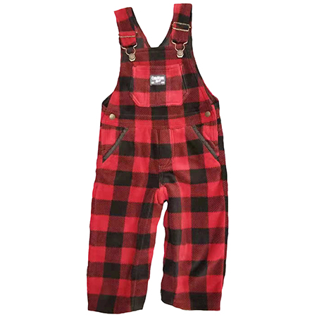 Baby Boy's Check Dungaree