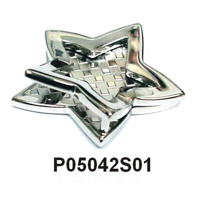 316L Steel Flying Star 3D Pendent