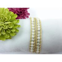 Leather Bracelets, THFD-0244-White