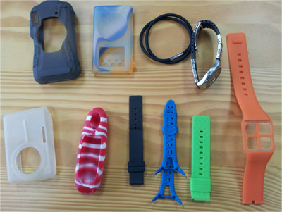 Watch Strap Silicone Case