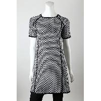 12gg 2 Colors Jacquard Dress