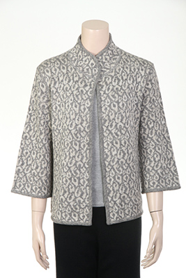 7gg Computer double jacquard jacket