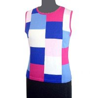 Sell 12GG Round neck jersey vest