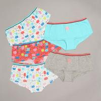 Girls 5pk cat boyshort