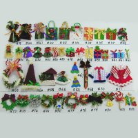 A-3-Mini Ornaments With Adhesive