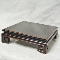 Square Stand With Coiled Feet