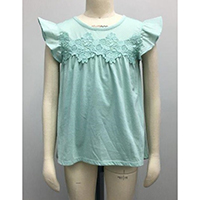 KTW LACE TEE