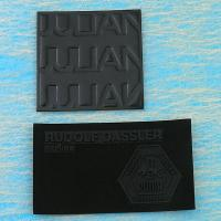 Embossed PU badge
