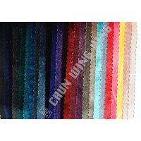 Korea Knit Fabric Polyester And Spandex Plain Dyed Velvet With Stretch