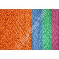 Taiwan Knit Fabric Polyester Yarn Dyed Knitted Mesh With A Slight Stretch