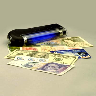 Electronic Money Detector
