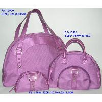 Fashion bag with handbag and cosmetic pouch