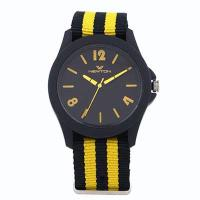 FT1151 Alloy Case Colorful with Plastic Kids nylon strap watch