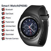 Simple Charm Men's Gift Watch Fashion Black Health Sports Smart Brand Watch
