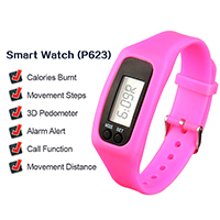 Waterproof Smart Watch Fitness Bracelet Calories Burnt Band Pedometer