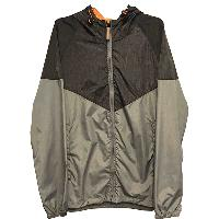 Mens Woven Chevron Storm Breaker Jacket, ACT003