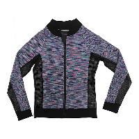 Womens Knitted Sport Contour Zip Through Jacket