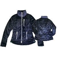 Womens Woven Ice Mountain Zip Through Jacket