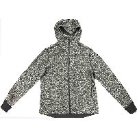 Mens Knitted Storm Zip Hooded Jacket