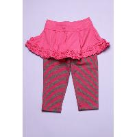 Baby Girl's Knitted Pants