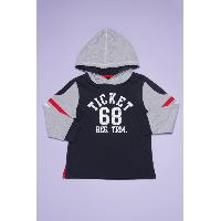 Boy's Knitted Hooded T-Shirts