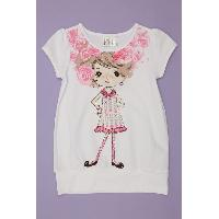 Girl's Knitted T-Shirts, CF-9075