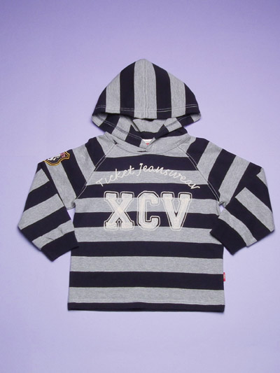 Boy's knitted Top with hood