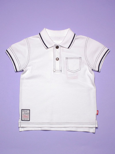 Boy's knitted Polo shirt