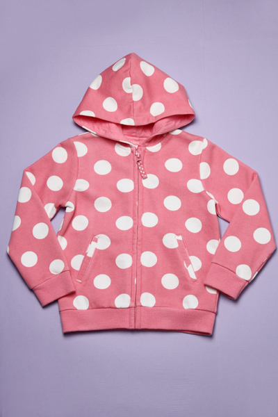 Girl's Knitted hooded Jacket