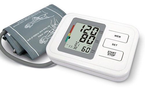 Blood Pressure Monitor (Fully Automatic Upper Arm Style)
