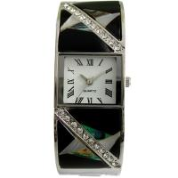 MOP BANGLE WATCHES WITH STONES