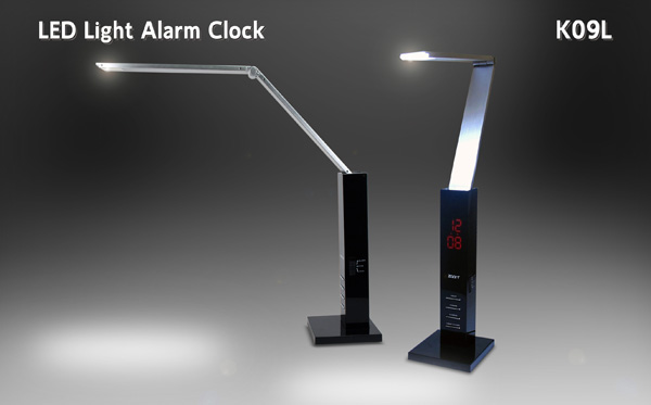 LED Light with Clock