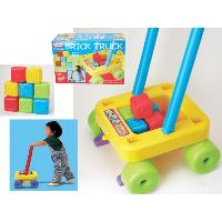 Educational ABC Brick Truck
