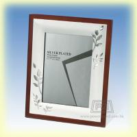 Metal Wooden Frame - Brown Color