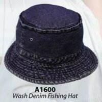 Wash Denim Fishing Hat