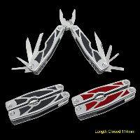Multi-tool With Anodized Aluminum Handle