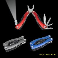 Multi-tools With Anodized Aluminium Handle & Flashlight