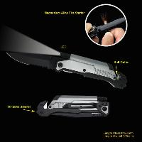 Survival Knife With Led Flashlight