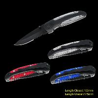 Pocket Knife with anodized aluminium handle