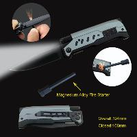 Sell Deluxe Pocket Knife with LED Flashlight
